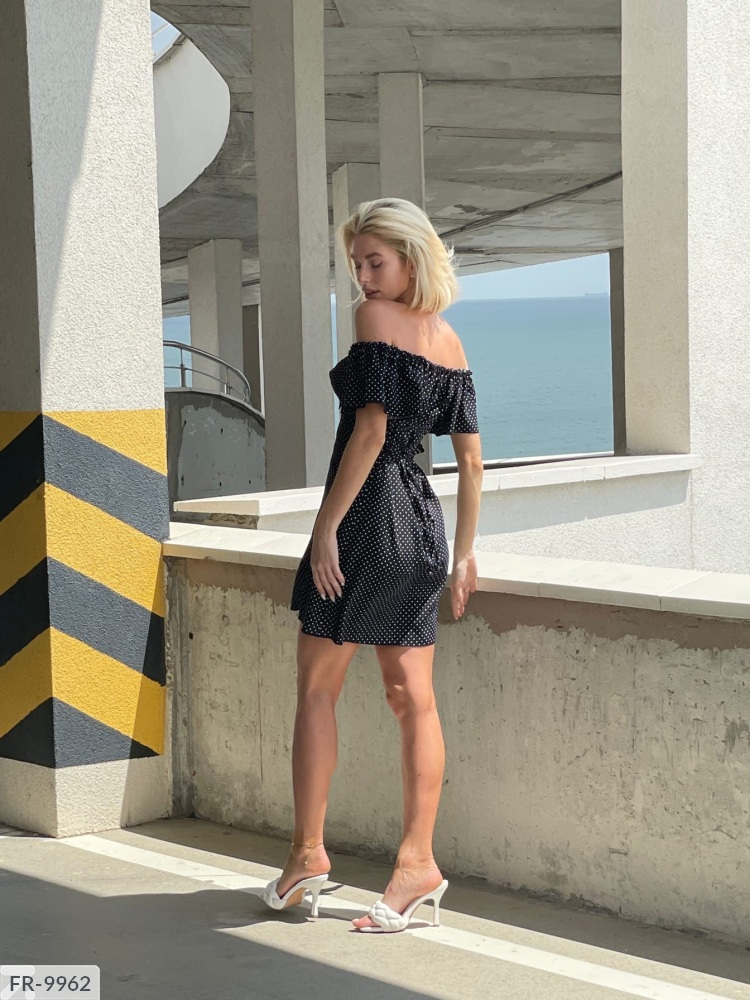 Платье FR-9951 черный