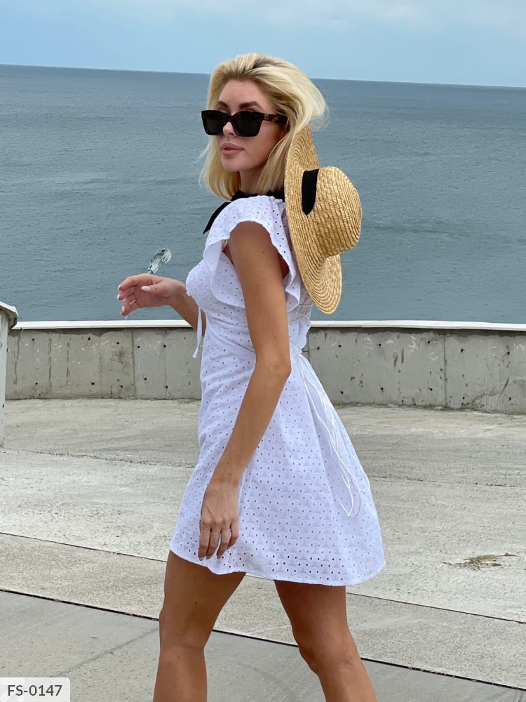 Платье FS-0147 белый