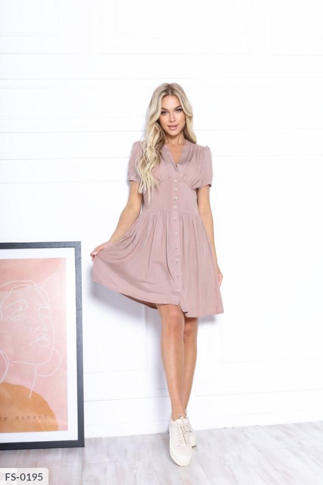 Платье FS-0192 беж