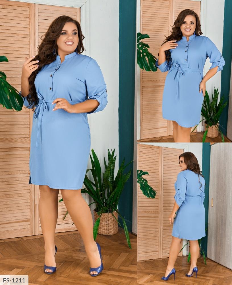 Платье FS-1210 джинс