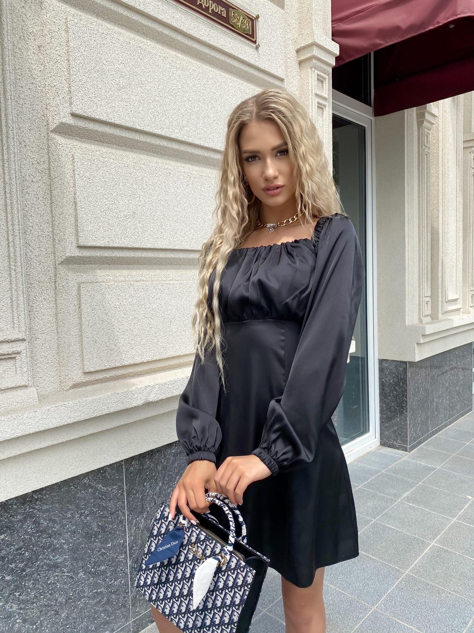Платье Ря405 черный