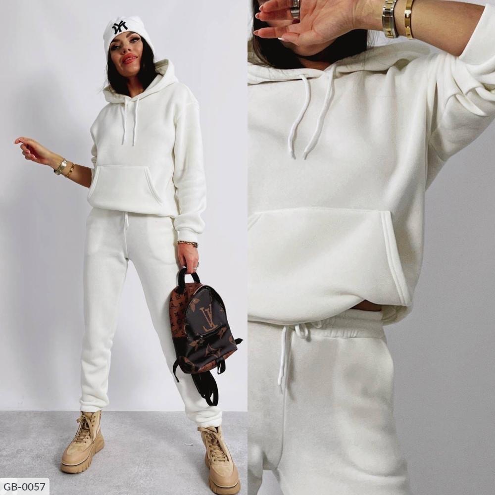 Спортивный костюм GB-0057 белый