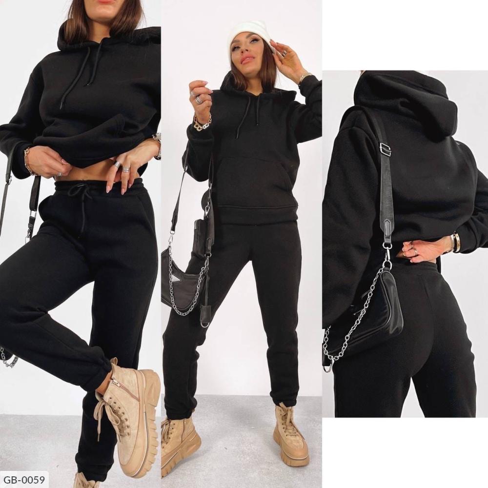 Спортивный костюм GB-0057 черный