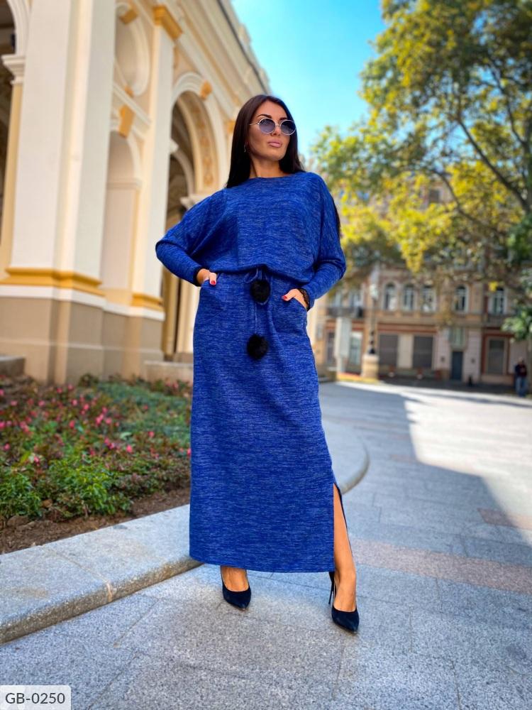 Платье GB-0250 электрик