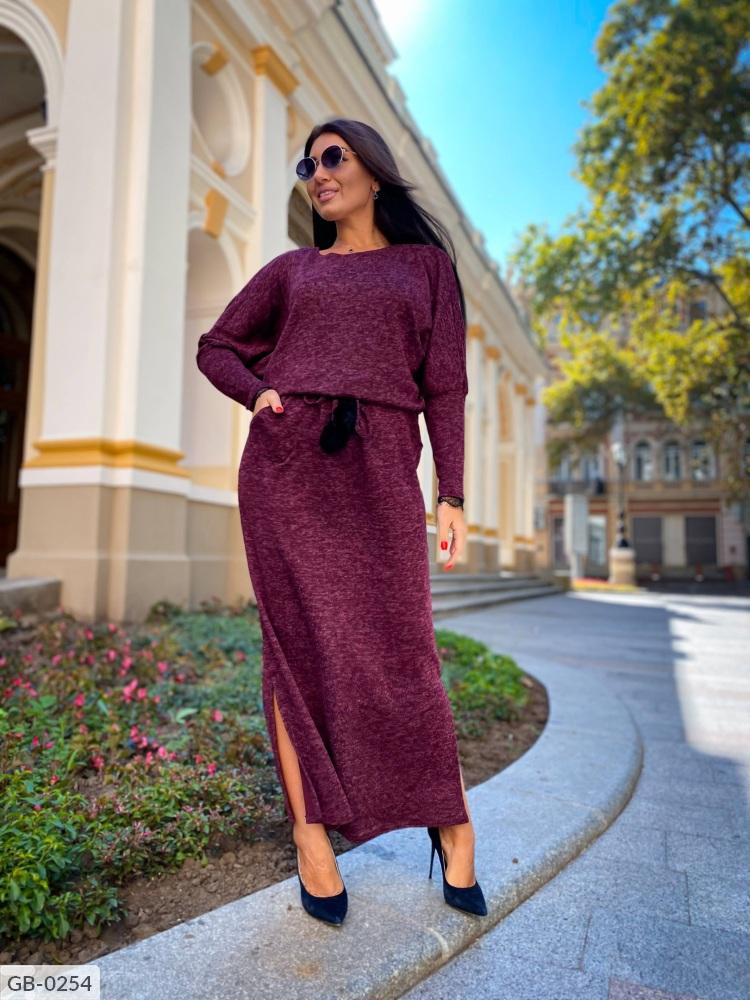 Платье GB-0250 марсал