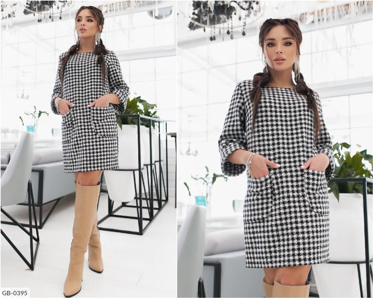 Платье GB-0395 черный
